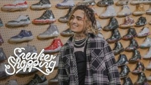 Lil Pump Goes Sneaker Shopping In Los Angeles